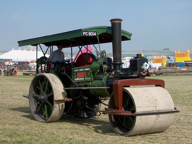 aveling porter road roller 7771 pegasus pc 9014 at the great dorset steam fair 2002 image. Black Bedroom Furniture Sets. Home Design Ideas