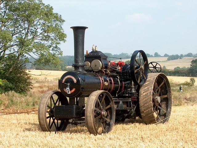 "Fowler Ploughing Engine 15278, ""Arthur Ashmole"""