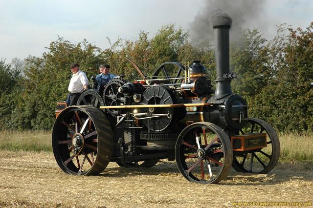 "Fowler Ploughing Engine, 4223 ""Aethelflaed"", AC 9061, Image 15 - Steam  Scenes"