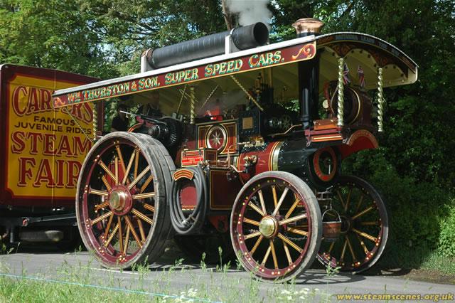 Burrell Showmans Road Locomotive, 2668