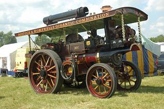 "Burrell Showmans Road Locomotive 3669, ""Nero"""