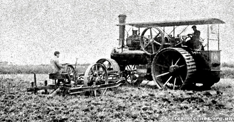 Turnbull Brothers Belford Northumberland, McLaren Ploughing Engine