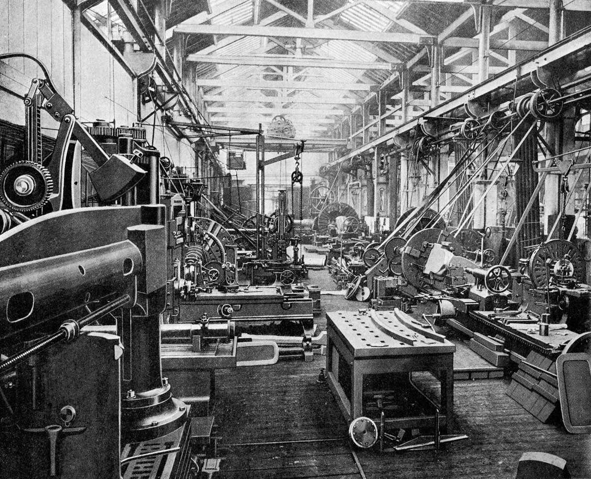 large machine shops